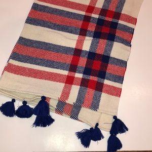 J Crew plaid scarf / wrap
